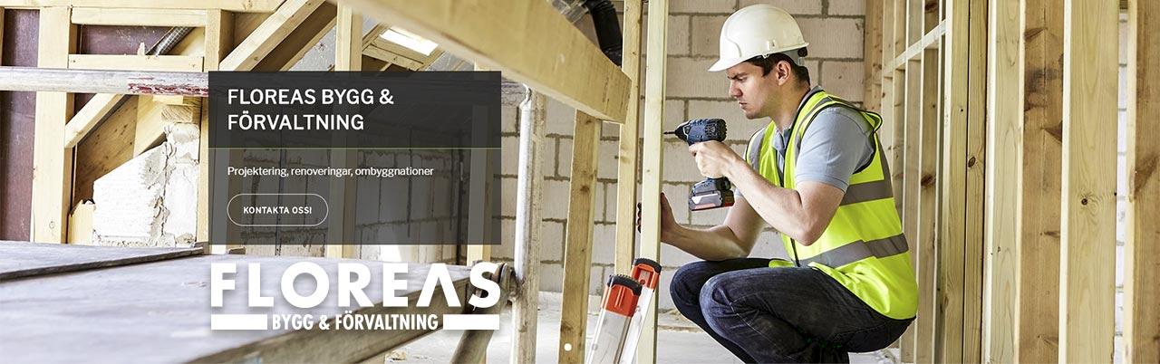 Floreas Bygg & Förvaltning drivs av Stellan Werner och är också ett företag under Floreas of Sweden AB. Vi utför allt från projektering, projektledning till det mesta inom bygg och teknisk fastighetsförvaltning.
